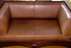 After Leather Clean Loveseat